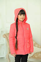 Детская Куртка на девочку LV весна  на рост от 122-140см