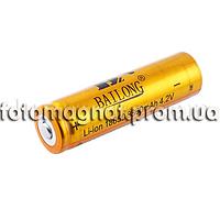 Аккумулятор(аккумулятор для фонаря) 18650-8800mAh, золотой