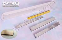 Накладки на пороги Peugeot PARTNER II 2008- / Пежо Партнер standart Nataniko