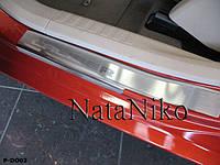 Накладки на пороги Dodge CALIBER 2006- / Додж Калибер premium