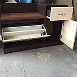 Тумба для обуви ТО-4 с мягким сидением и тумбочкой, фото 4