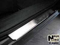 Накладки на пороги Mazda CX-9 2007- / Мазда CX-9 premium