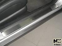 Накладки на пороги Nissan TEANA 2007- / Ниссан Теана premium