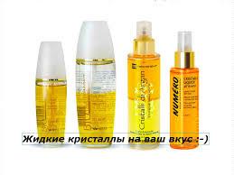 Жидкие кристаллы, масла, бальзамы для волос Brelil