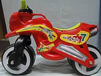 Каталка мотоцикл 11-006 красный