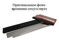 Накладки на пороги Skoda RAPID 2013- / Шкода Рапид premium