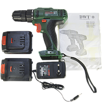 Дрель шуруповерт аккумуляторная DWT ABS-14.4 ВLi-2 BMC (1,5 А/ч,14,4 В)