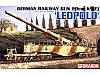 German railway gun  28cm K5\e\ 'LEOPOLD'           1\35         Dragon 6200