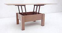 стол журнальный раскладной Трансформер 1  ТИС 450х750х920мм