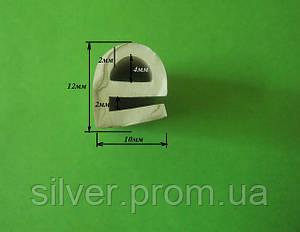 Уплотнитель из силикона е-образный