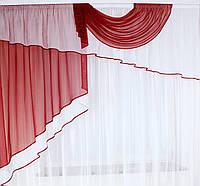 Магазин штор - кухонная занавеска с тюлью