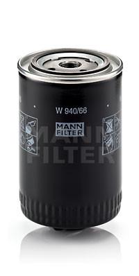 Фильтр масляный MANN W940/66 для Skoda SuperB 1.8T , Volkswagen Passat B5 1.8T , Audi A6 1.8T , Audi A4 1.8T