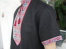 Вышиванка мужская с коротким рукавом, фото 3