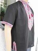 Вышиванка мужская с коротким рукавом