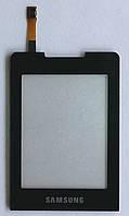 Сенсорный экран для мобильного телефона Samsung C3330, чёрный, High Copy