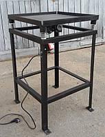 Вибростол для производства тротуарной плитки 0,5м. х 0,5м.