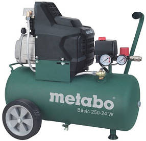 Масляный компрессор Metabo Basic 250-24 W