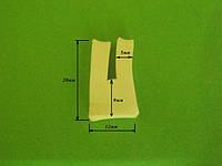 Профиль силиконовый П-образный