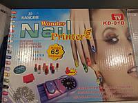 Принтер-штамп для дизайна ногтей+лаки, фото 1