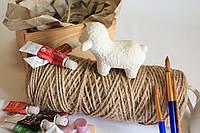 Игрушка из керамики баран.