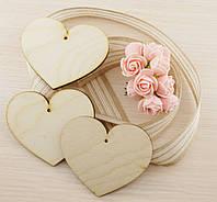 Сердце 2 Фанера 95Х78Х4 мм (товар при заказе от 200 грн)