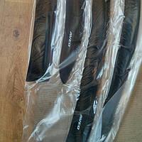 Дефлекторы окон (ветровики) на Шевроле Авео-3 с 2006> седан (клеющие) ANV air.