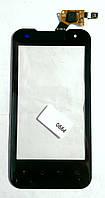 Тачскрин (сенсор) LG P990 Optimus 2X, P999 Optimus G2x ORIG, black (черный)