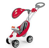 Детская машинка - каталка Smoby Bubble Go  Red 720100
