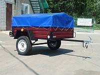 Прицеп легковой оцинкованный «Лев-16» 750 кг. без колес и тента