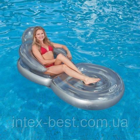 Пляжное надувное кресло — шезлонг Intex 58867