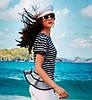"""Лето-2013 в """"морском стиле"""" и модные солнцезащитные очки"""