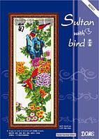 """Набор для вышивания """"Султан с птицей"""" DOME"""