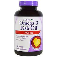 Омега-3 Natrol, 1000 мг, 150 капсул