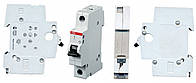 Автоматический выключатель ABB SH201-C6 тип C, 6А однополюсной