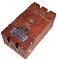 Автоматический выключатель серии А 3796 (250-630А)