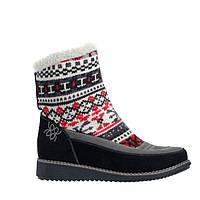 Ботинки женские зимние  без каблука