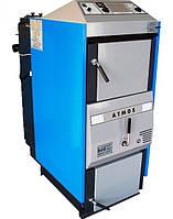 Пиролизный твердотопливный котел с газификацией древесины Atmos C 30 S (Атмос)