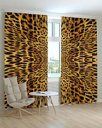 Фотошторы леопардовый принт