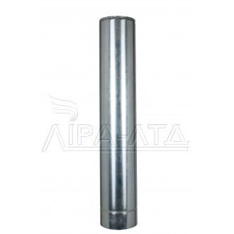 Труба-сэндвич дымоходная (термо) 1 метр 0,5 мм н/оц AISI 304