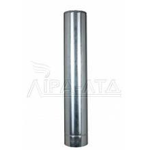 Труба дымоходная нержавейка (термо) 1 метр 0,8 мм н/оц AISI 304