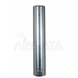 Труба-сэндвич дымоходная (термо) 1 метр 0,5 мм н/оц AISI 304, фото 2