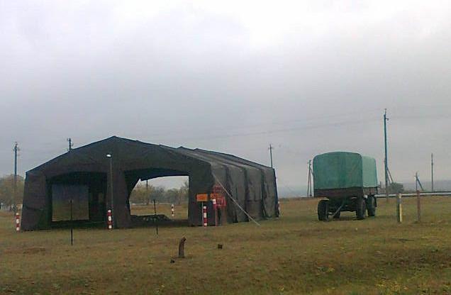 Танковая палатка