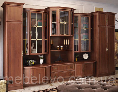 Шкаф Барон  2066х800х560мм орех   Мебель-Сервис, фото 2