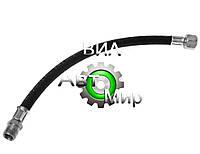 Шланг тормозной МАЗ от компрессора к ресиверу L=425мм (гайка-штуцер) (БалаковоРТ) 504В-3506210