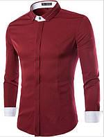 Рубашка бордовая Ромео, фото 1