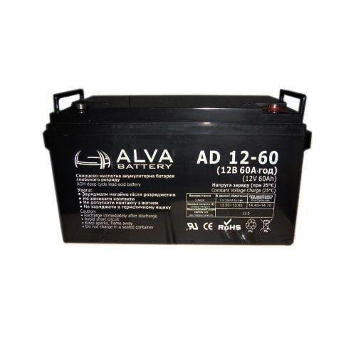 Акумуляторна батарея ALVA Battery AD12-60