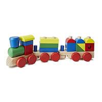 Поезд из кубиков Melissa Doug
