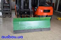 Отвалы для погрузчика - оборудование для уборки снега или распределения сыпучих грузов