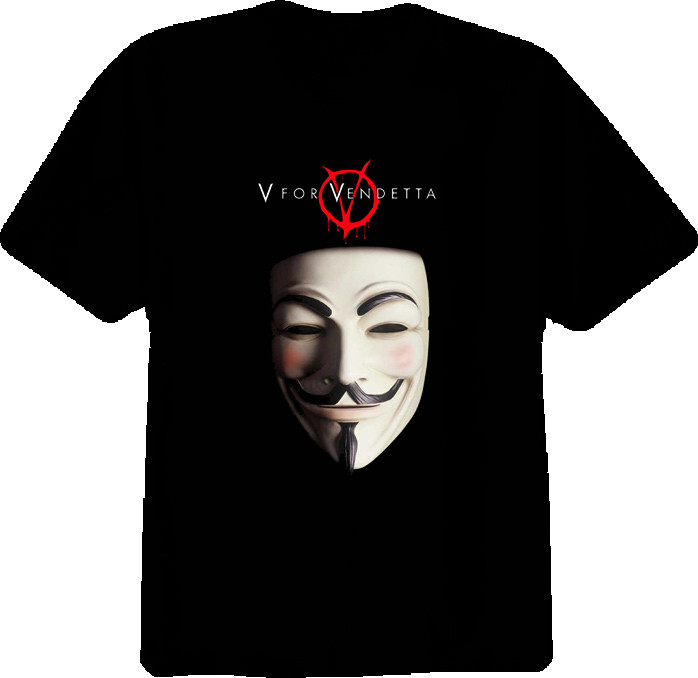 Мужская футболка V For Vendetta