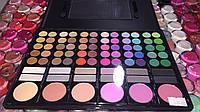 Профессиональная палитра для макияжа78 яркие тени и румяна, фото 1